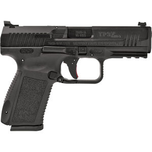 "Canik TP9SF Elite-S 9MM Luger Semi Auto Pistol, 4.19"" Match Grade Barrel, 15 Rounds, Warren Tactical Sights, Polymer Frame, Black Finish"