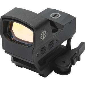 Sightmark Core Shot A-Spec LQD, Reflex Sight, Aluminum, Illuminated Reticle, Picatinny Mount, Black Finish, CR2032