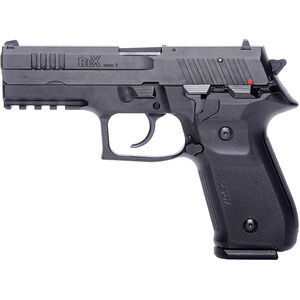 "FIME Group Rex Zero 1S 9mm Luger Semi Auto Pistol 4.3"" Barrel 17 Rounds Metal Frame Night Sights Black Finish"