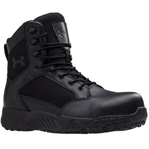 Under Armour Men's Stellar Protect Tactical Boot 8 Black