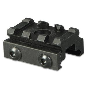 "Lion Gears AR-15 Tactical .5"" Riser Mount 3 Slots 1.45"" Long Aluminum Black BM0305QD"