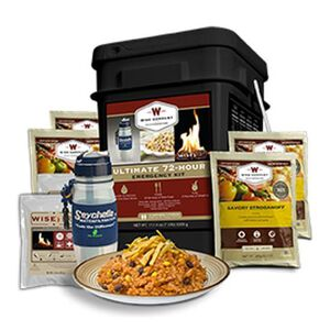 Wise Company Freeze Dried Ultimate 2 Person 72 Hour Emergency Kit 72 Servings