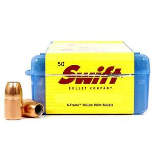 "Swift A-Frame Heavy Revolver Bullets .38 Caliber .357"" Diameter 180 Grain Bonded Hollow Point Bullet 50 Count"
