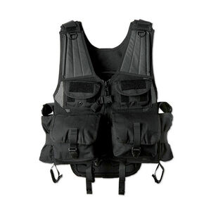 Uncle Mike's Launcher Vest Ballistic Nylon 4 Launcher Pouches Black