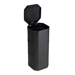 "Magpul DAKA Can 6.4""x2.5""x2.7"" Pocket Sized Storage Container Lined with High Density Foam Rigid Shell Black"