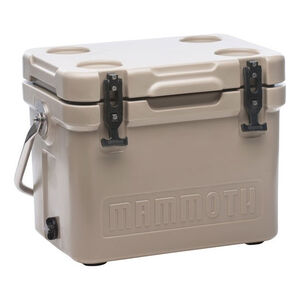 Mammoth Coolers Cruiser 20 Dry Ice Capable 17 qt Tan
