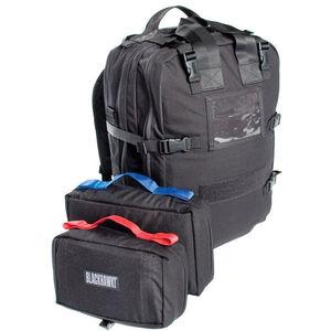 "BLACKHAWK! S.T.O.M.P. II Medical Backpack 20""x13""x6"" 1000 Denier Nylon Black 60MP01BK"