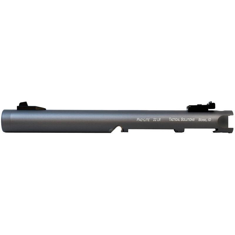 "Tactical Solutions Pac-Lite IV 6"" Threaded Barrel Ruger Mark IV or Ruger Mark IV 22/45 Aluminum Gun Metal Gray"