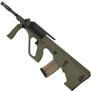 """Steyr AUG A3 M1 Semi Auto Rifle 5.56 NATO 16"""" Barrel 30 Rounds with High Rail Green"""