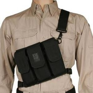 BLACKHAWK! Rifle Bandoleer, Holds 6 M4 AR15 Mags, Black