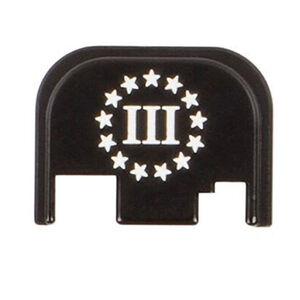 CruxOrd GLOCK Back Plate Three Percent Aluminum Black