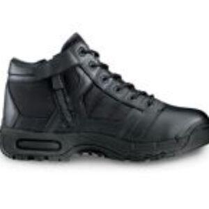 "Original S.W.A.T. Metro Air 5"" Side Zip Men's Boot Size 9.5 Regular Non-Marking Sole Leather/Nylon Black 123101-95"