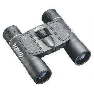 Bushnell Powerview Binocular 12x25 Compact Roof Prism Black Rubber 11.3oz
