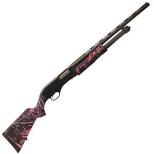 "Savage Arms Stevens 320 Youth Pump Shotgun 20 Gauge 3"" Chamber 26"" Barrel Synthetic Stock Muddy Girl 22560"
