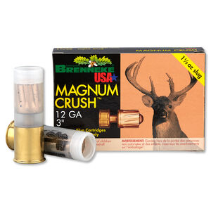 "Brenneke Magnum Crush 12 Ga 3"" 1.5oz Rifled Slug 5 rds"
