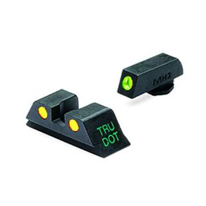 Meprolight Tru-Dot Fixed Night Sights GLOCK 20/21/29/30 Green/Orange Steel 10222O