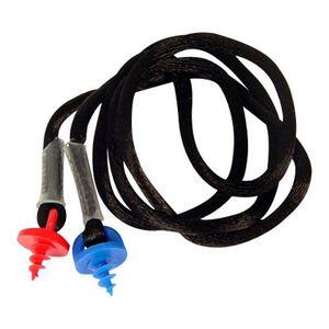 Radians Custom Molded Earplug Neck Cord Synthetic Black CEPNCB