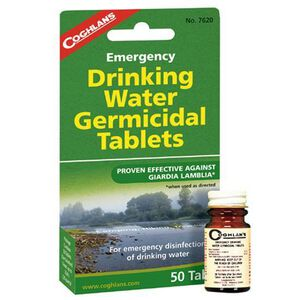 Coghlan's Emergency Drinking Water Tablets 50 Count