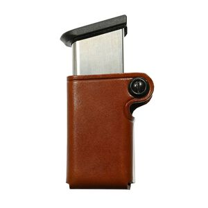 Galco SMC Single Mag Case .45/10mm Single Stack Metal Leather Tan