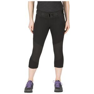 5.11 Tactical Women's Raven Range Capri Size XL Black