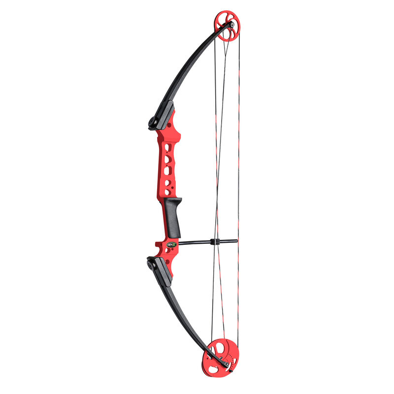 Gen X Bow with Kit Right Handed, Red