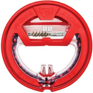 "Real Avid Bore Boss .22 Caliber Single Pass Pull Through Bore Cleaner 32"" Cable 8.5"" Mop with Storage Handle"