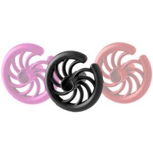 Hot Shot Archery KISS OF DEATH Compound Bow Kisser Button Flex-Touch Polymer Black