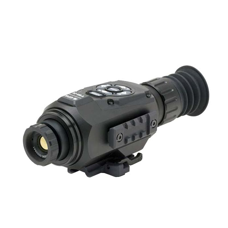 ATN ThOR HD Thermal Rifle Scope 1.5-15x 25mm 640x480 With HD Video Recording Wi-Fi GPS Smartphone Control Via iOS or Android Matte TIWSTH642A