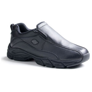 Dickies Men's Slip Resisting Athletic Slip-On Work Shoes 10 Black