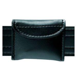 Safariland Model 33 Surgical Glove Pouch Hook And Loop Closure Basket Weave Black 33-03V