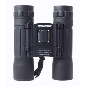 HUMVEE 10x25 Compact Binocular, Black