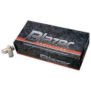CCI Blazer .380 ACP Ammunition 50 Rounds FMJ 95 Grains 3505