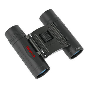 Tasco Essentials 8x21 Compact Binoculars Roof Prism Rubber Coated Black Boxed