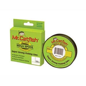 Lew's Mr.Catfish® Mega Spool Premium Line, 500 Yards 25 lb test, HiViz, CFS25HV