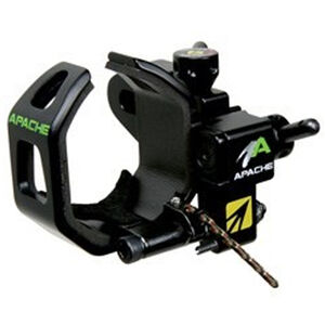 New Archery Products Apache Arrow Rest Right Handed Laser Etched Graduations Quick Adjust Matte Black 60-893