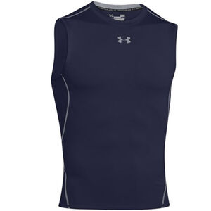 Under Armour Heatgear SL Tee Shirt Large Black 1257469001LG