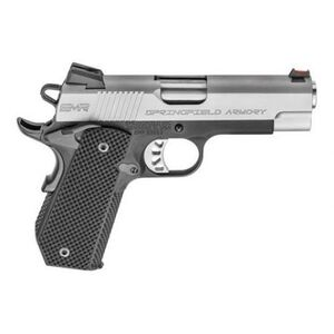 "Springfield Armory 1911 EMP 4"" Concealed Carry Contour 9mm Semi Auto Pistol Two Tone"