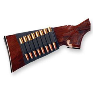 Bulldog Cases Rifle Buttstock Eight Cartridge Carrier Nylon Black WBSR