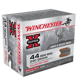 Winchester Super X .44 Magnum Ammunition 20 Rounds, HSP, 240 Grain