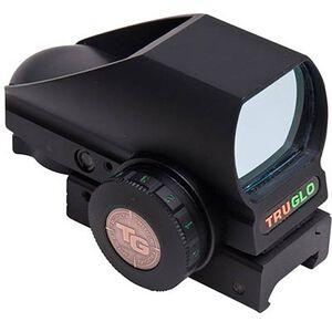 TRUGLO Tru-Brite Open Red Dot Sight Multi Reticle Dot Black Finish TG8380BN
