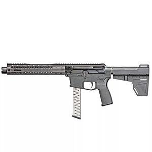 "Black Rain ION9 AR-15 9mm Luger Semi Auto Pistol 8.75"" Barrel 30 Rounds GLOCK Magazines M-LOK Slim Handguard SD Tactical PDW Brace Black"