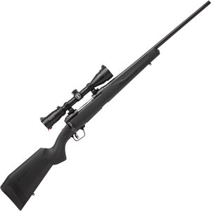 """Savage 110 Engage Hunter XP Package Bolt Action Rifle .338 Fed 22"""" Barrel 4 Rounds with 3-9x40 Scope Matte Black Finish"""