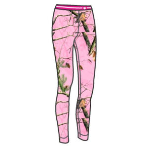 Medalist Women's Huntgear Insulating Stretch Pants Polyester/Spandex XXL Pink Camo M5815RTPC2XL