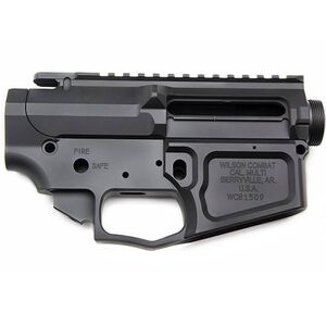 Wilson Combat AR-15 Matched Billet Upper/Lower Receiver Set Aluminum Black Armor-Tuff TR-LOWUPP-BIL