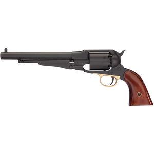 "Taylor's & Co 1858 Remington Black Rock .44 Caliber Black Powder Revolver 8"" Octagonal Barrel 6 Rounds Walnut Grips Nitride Finish"