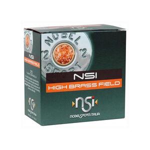 "NobelSport High Brass Field 12 ga 2-3/4"" #6 Lead 1-1/4 oz 25 Round Box"