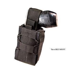 High Speed Gear Stun Gun TACO Belt Mount Black