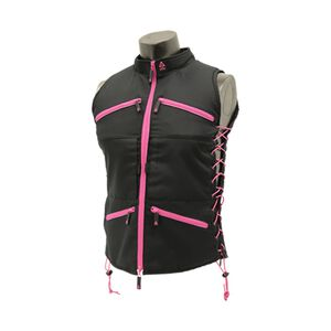 UTG TRUE HUNTRESS® Female Sporting Vest, Black/Pink