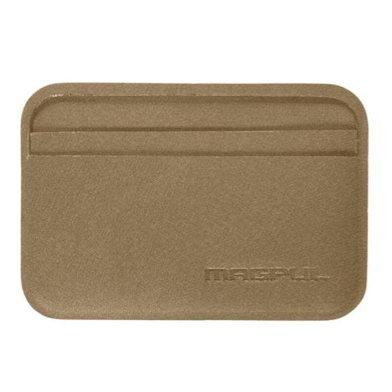 "Magpul DAKA Everyday Wallet 4.2"" x 2.84"" Polymer Textile Flat Dark Earth"