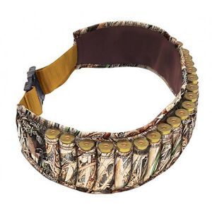 "Allen Shotshell Belt Adjustable to 58"" Holds 25 Rounds Neoprene Camo 2528"
